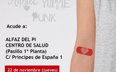El Centro de Salud de l'Alfàs del Pi acoge una nueva colecta de sangre