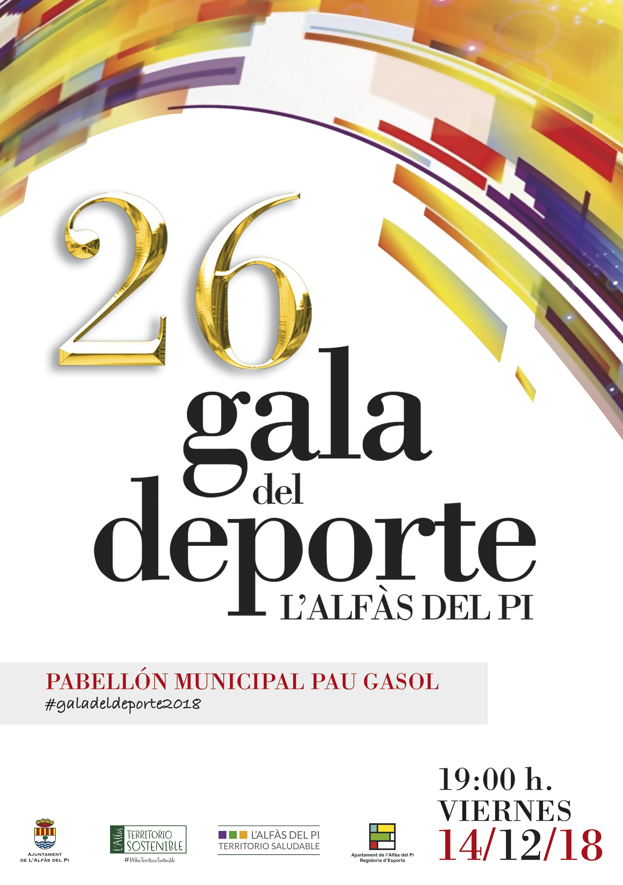 Este viernes l'Alfàs del Pi celebra la XXVI Gala del Deporte