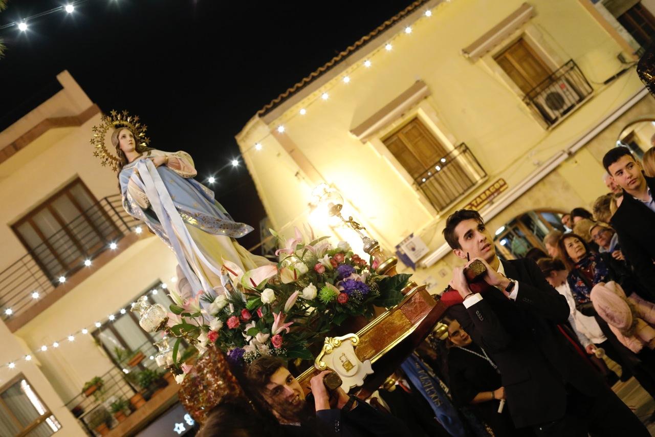 Las fiestas de La Purísima marcan el arranque del periodo navideño en l'Alfàs del Pi