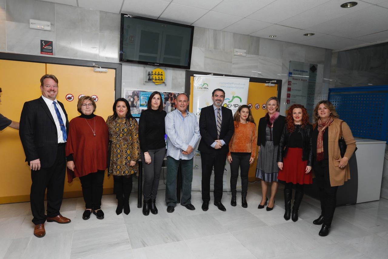 COEMPA celebró su décimo aniversario con una gala de ambiente navideño