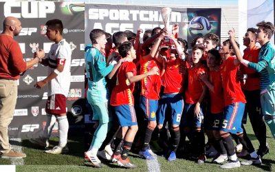 La Selección  Española se impuso a México en la última jornada del torneo AGS que se ha disputado durante la semana en la Marina Baixa.
