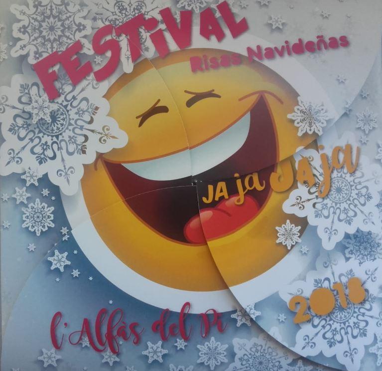 El Festival Jajaja Risas Navideñas incluye como novedad una noche en la biblioteca