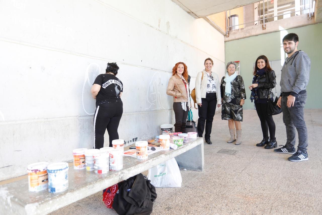 Arte urbano contra la violencia de género y por la igualdad