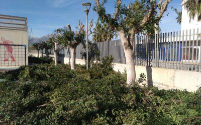 El Ayuntamiento de l'Alfàs aprovecha la Navidad para realizar obras de mantenimiento en los colegios