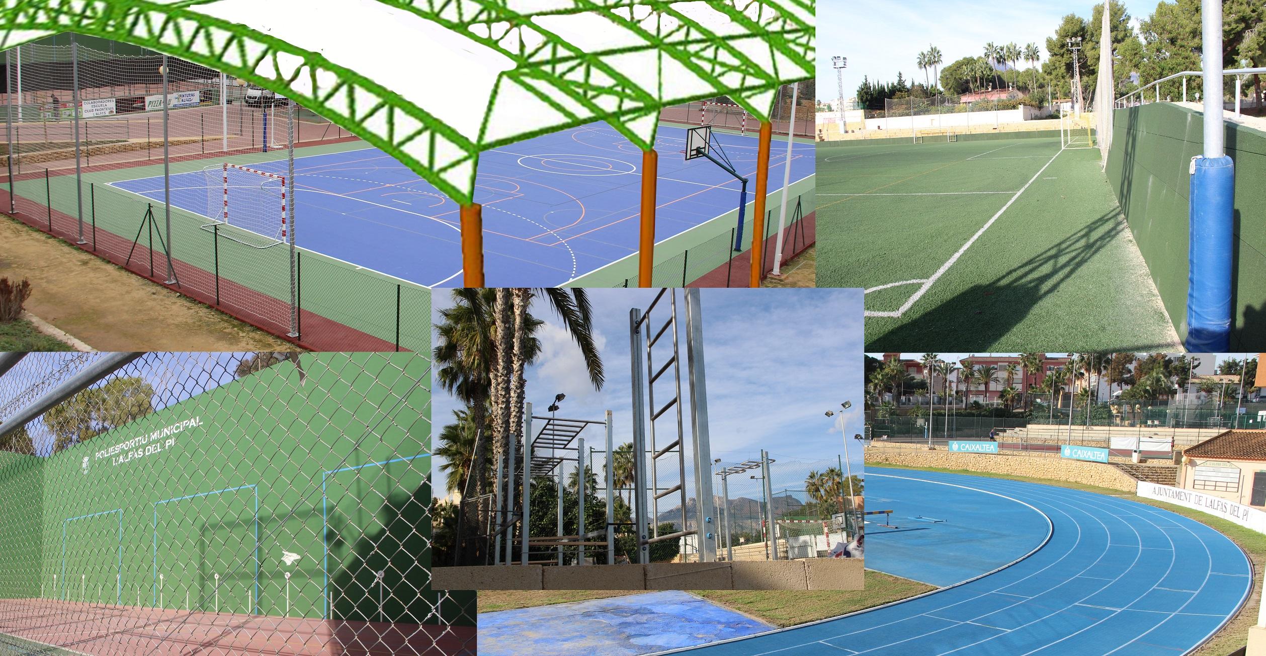 La concejalía de deportes ha invertido 120.000€ en obras de mejora en el polideportivo.
