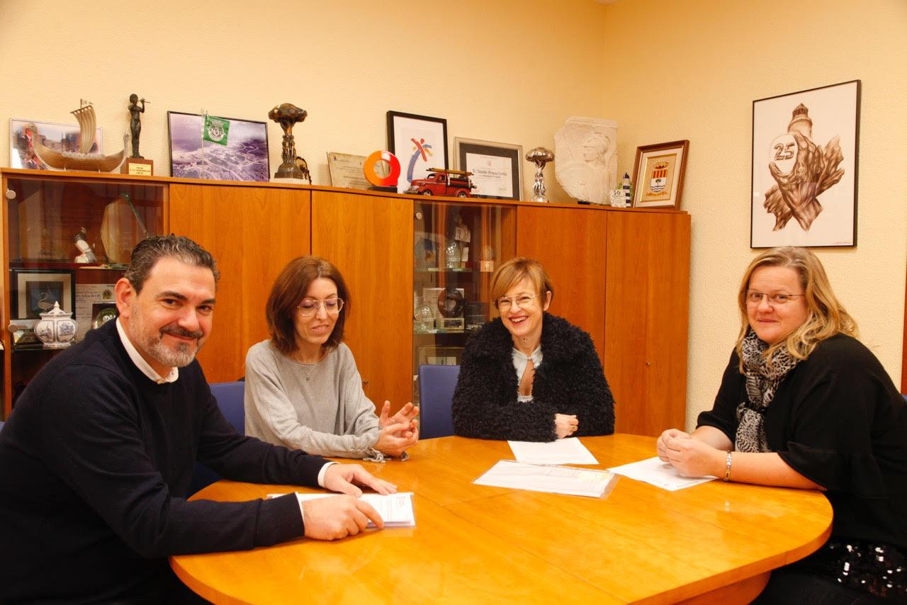 El Ayuntamiento de l'Alfàs renueva su colaboración con la asociación Sweetie