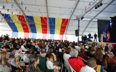 La comunidad rumana celebra en l'Alfàs el centenario de su Día Nacional