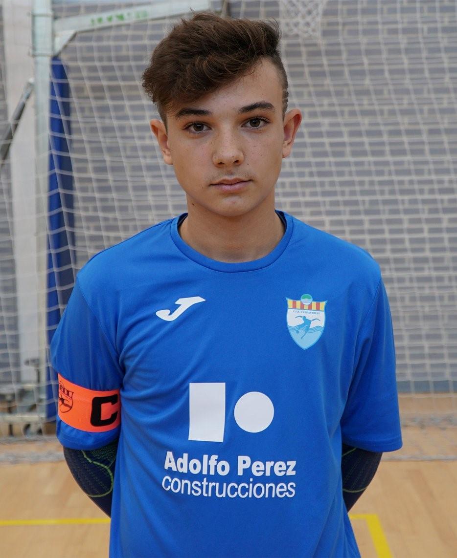Un jugador del CFS de L'Alfàs del Pi ha sido convocado de nuevo  por la Selección de la Comunidad Valenciana sub 14.