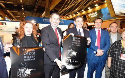 Ximo Puig muestra su apoyo al Festival de Cine de l'Alfàs del Pi