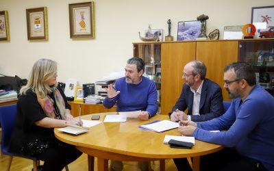 L'Alfàs del Pi y APSA planifican los proyectos de colaboración para 2019