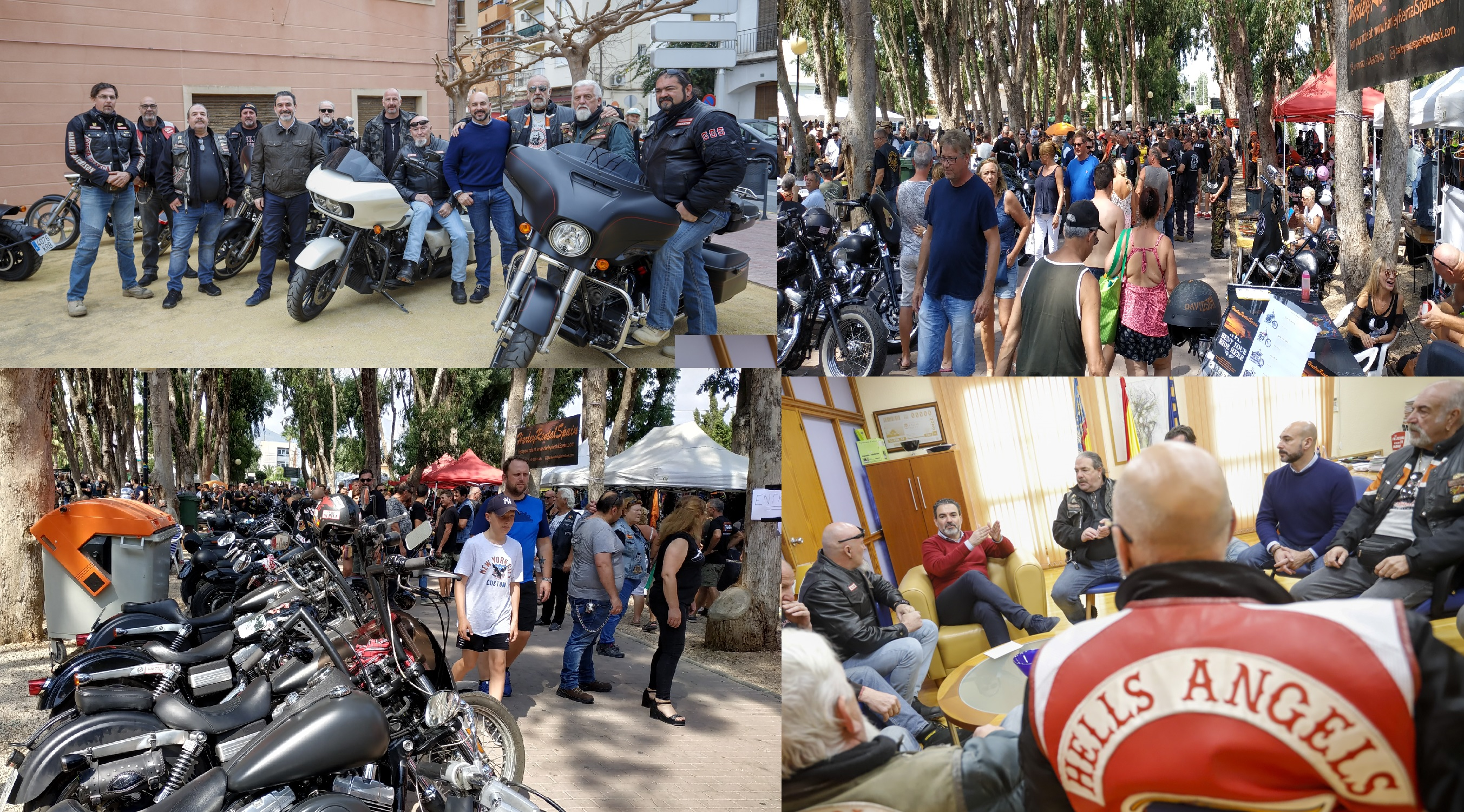El Ayuntamiento recibe 1000 €uros de la asociación Costa Blanca Bike Show para fines sociales