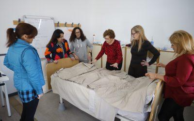 El CFO acoge las prácticas del curso de auxiliar de geriatría que imparte Mujeres con Voz