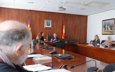 La concejalía de residentes retoma las reuniones de coordinación con las asociaciones