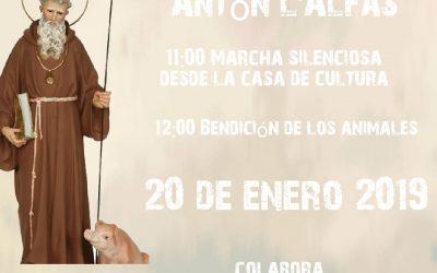 L'Alfàs del Pi celebrará este domingo San Antón con la bendición de animales