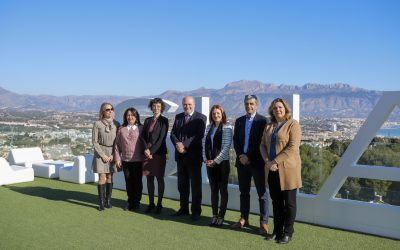 La AVI y la UA respaldan la continuación del proyecto 'L'Alfàs LivingLAB Saludable'
