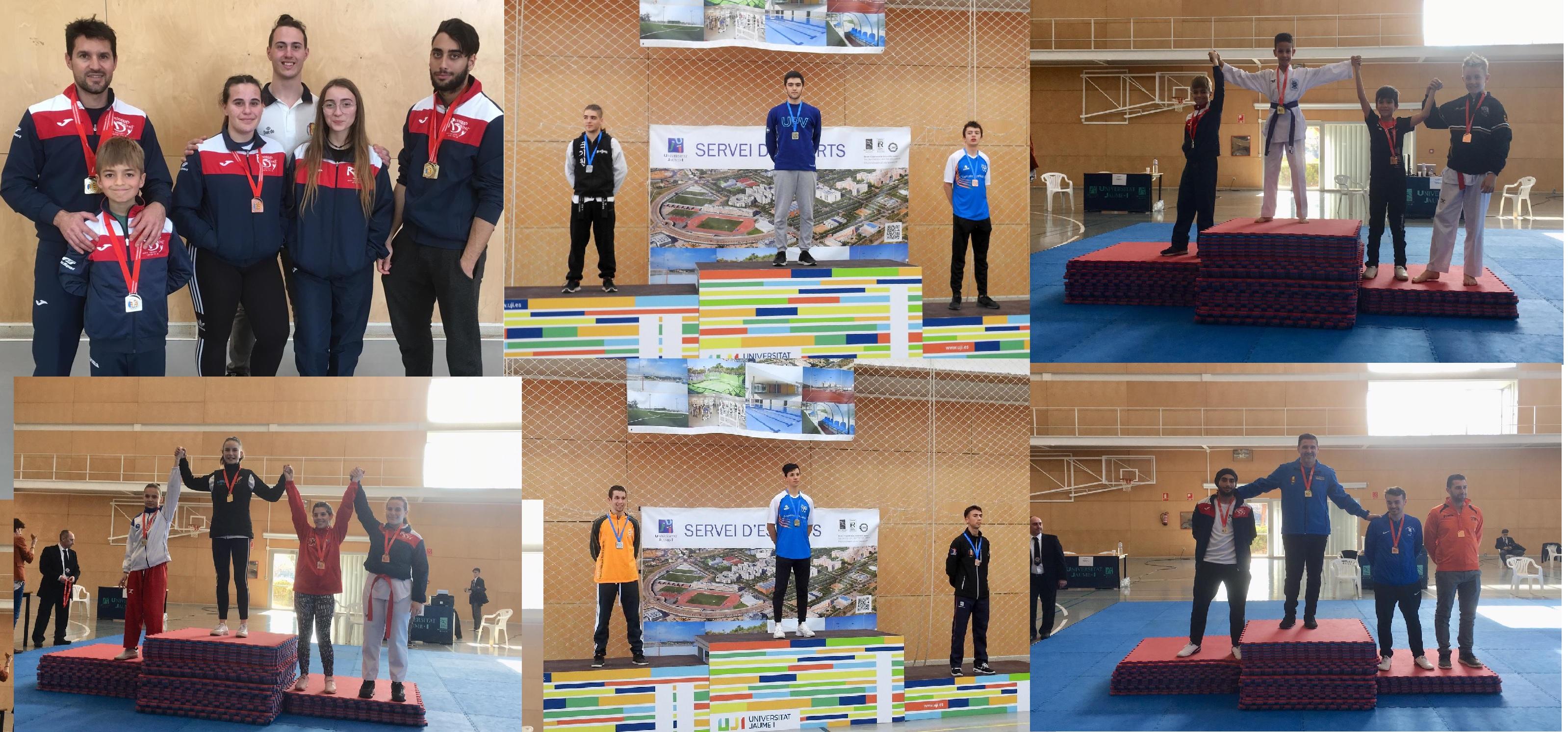 Tres oros, dos platas y dos bronces para el taekwondo alfasino en el Campeonato Autonómico de Poonsae y Combate.