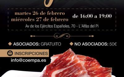 El curso de cortador de jamón organizado por Coempa se celebrará a mediados de marzo