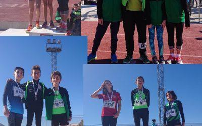 Tres bronces y un oro para el atletismo alfasino en el Campeonato provincial celebrado en Elda.