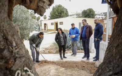 El Ayuntamiento de l'Alfàs mejora el entorno del campo de golf