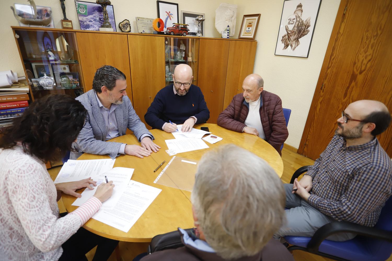 L'Alfàs y la Sociedad Musical La Lira renuevan sus lazos de colaboración