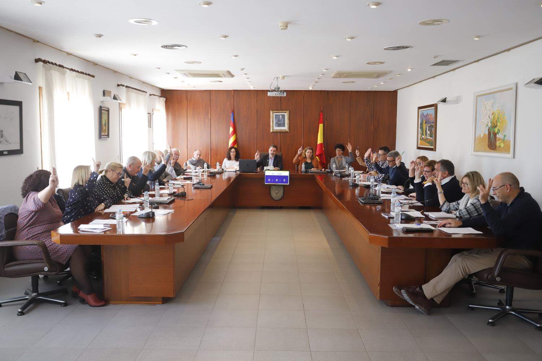 El Pleno de l'Alfàs aprueba el nuevo Plan de Actuación Municipal ante el Riesgo de Inundaciones