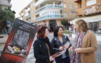 La Ruta 'Tapas de Teatro' arranca mañana jueves en l'Alfàs del Pi