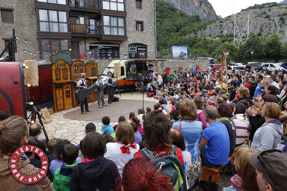 La Mostra de Teatre de l'Alfàs llega este fin de semana a su ecuador con el 'Teatro sobre ruedas'