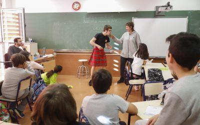 La actividad 'El jardín de la mujer' llega a los colegios de l'Alfàs