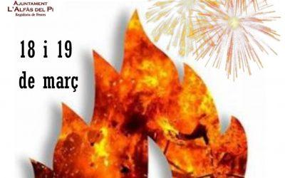 L'Alfàs del Pi se prepara para la celebración de los actos en honor a San José, patrón del municipio
