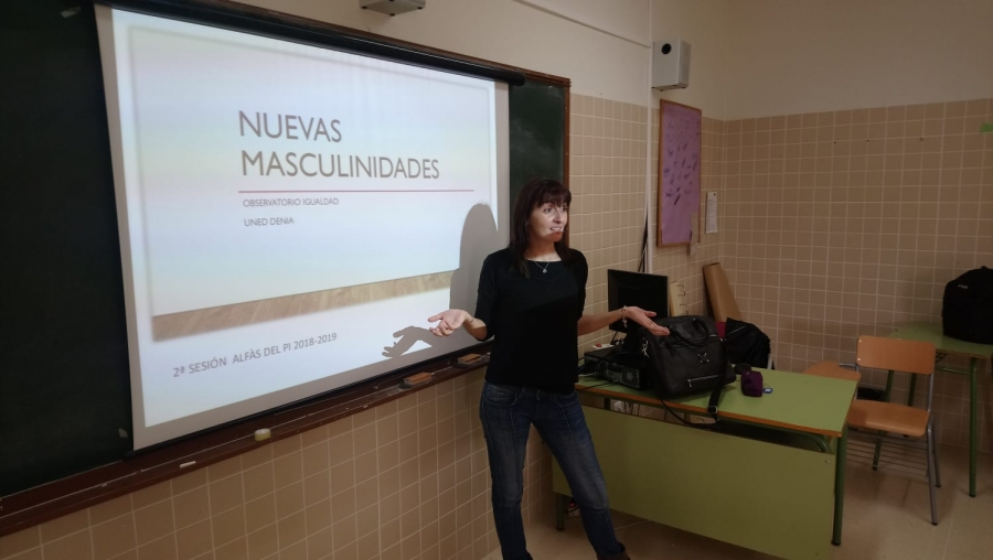 La UNED Denia continúa con los talleres de Nuevas Masculinidades en l'Alfàs del Pi