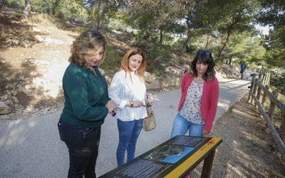L'Alfàs renueva el panelado de la ruta interpretativa al Faro de l'Albir