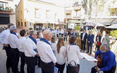 El Ayuntamiento de l'Alfàs despide al grupo vocal italiano Il Baluardo de Lucca