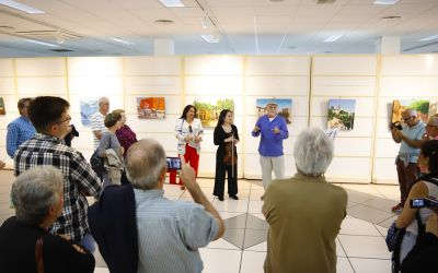 Ramón Urios expone 'Entre vistas' en la Casa de Cultura de l'Alfàs