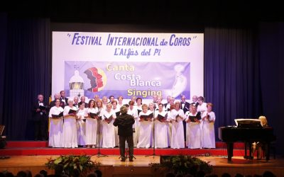 Mañana arranca el octavo Festival Internacional de Coros de l'Alfàs del Pi