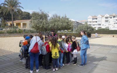 Estudiantes del CEIP Santíssim Crist del Bon Encert visitan la Villa Romana