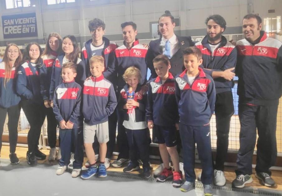 8 Oros 2 Platas y 4 Bronces  para el Club Neptuno de taekwondo de l'Alfàs del Pi en la Liga Valenciana.