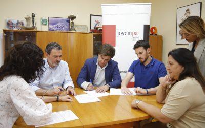 El Ayuntamiento y Jovempa renuevan su acuerdo de colaboración