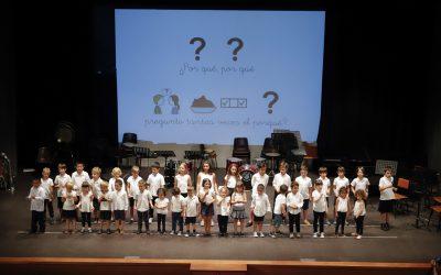 Los educandos de La Lira despiden el curso con un concierto sobre 'Músicas del Mundo'