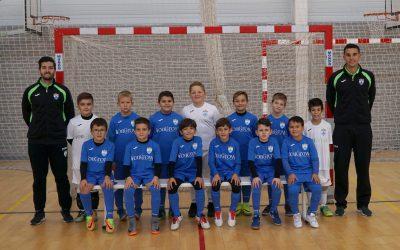 El equipo  Benjamín  del CFS l'Alfàs del Pi clasificado  para las semifinales de la Copa Federación.