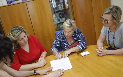 La Asociación de Uruguayos y el Ayuntamiento renuevan sus lazos de colaboración