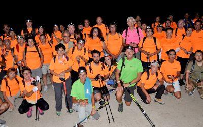 Este  sábado 3 de Agosto se relizará la 12ª Caminata Nocturna  que organizan la FENWA y las concejalías de deportes de l'Alfàs del Pi y Altea