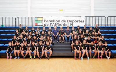 44 niños y niñas participan en el primer Campus de Krav Maga de l'Alfàs del Pi