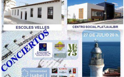 L'Alfàs acoge del 25 al 29 de julio cinco conciertos gratuitos con motivo del curso internacional de música