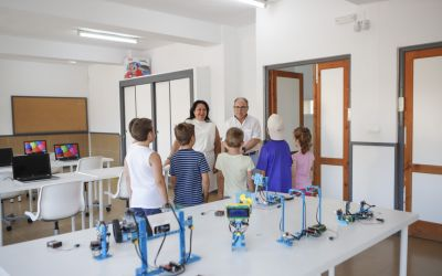 Arranca el curso de robótica infantil que organiza la concejalía de Educación
