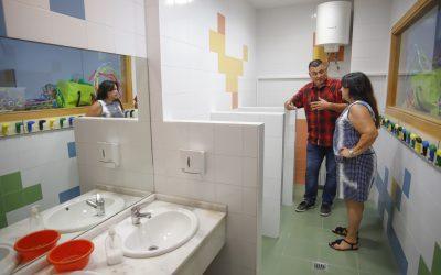 El Ayuntamiento de l'Alfàs aprovecha las vacaciones para realizar obras de mejora en los tres colegios públicos