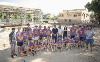 Una quincena de jóvenes participan en el XII Campo de Trabajo Internacional Villa Romana de l'Albir