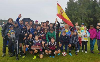 El equipo cadete del CF l'Alfàs del Pi gana   de nuevo y pasa a la siguiente ronda de la Norway Cup