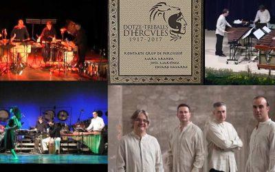 Este Sábado actúa el grupo Kontacte Percusió dentro de la programación cultural de verano en el Albir