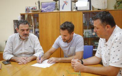 El Ayuntamiento de l'Alfàs del Pi ratifica el convenio de colaboración con el Club Neptuno de Taekwondo