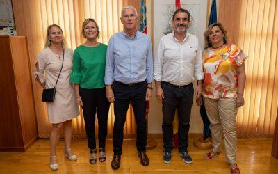 Arques se reúne con el nuevo cónsul honorario de Noruega